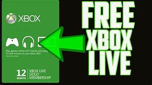 PATCHED HOW TO GET FREE XBOX LIVE GOLD CODES WORKING