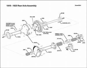 Model T Ford Forum  Clamshell Rear Axle Assembly Diagram Needed
