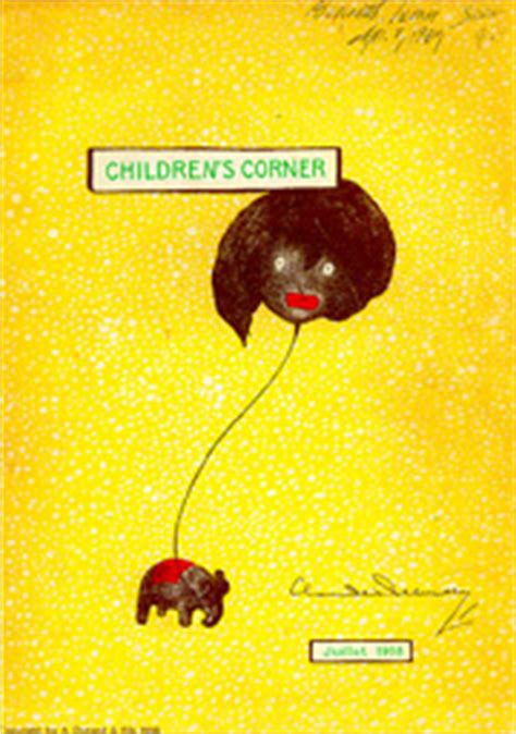 childrens corner  claude debussy featuring golliwogg