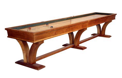 a shuffleboard table veneto shuffleboard table new contemporary designmcclure 7337