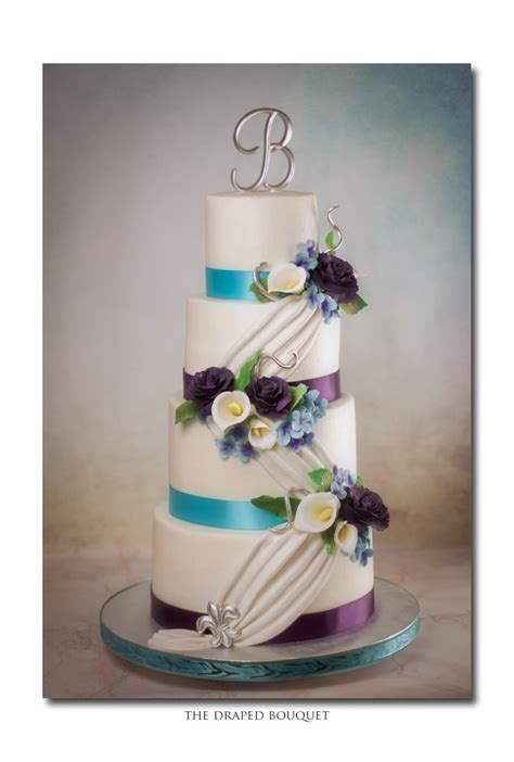 Fondant Drapes - buttercream fondant drapes 5050 flowers cakecentral
