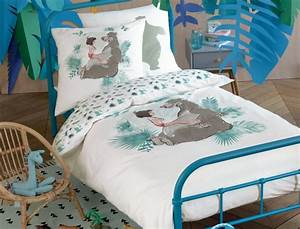 Parure Couette Enfant : linge de lit enfant le livre de la jungle linvosges ~ Teatrodelosmanantiales.com Idées de Décoration