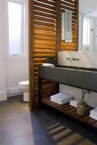 Idee decoration salle de bain salle de bain for Separation salle de bain