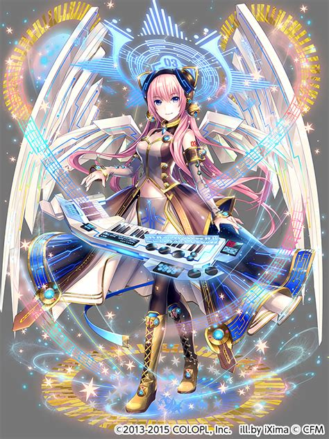 cuisine ixima tags vocaloid wallpaper megurine luka official