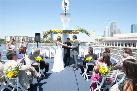 Yacht StarShip Marry Me Tampa Bay Local Real Wedding