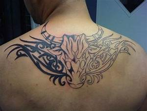 12 Beautiful Taurus Tribal Tattoos | Only Tribal