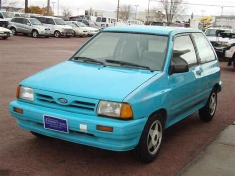 how do i learn about cars 1993 ford ranger spare parts catalogs 1993 ford festiva gl 63 hp 0 60 yes 16 2 seconds top speed umm it has one but no one