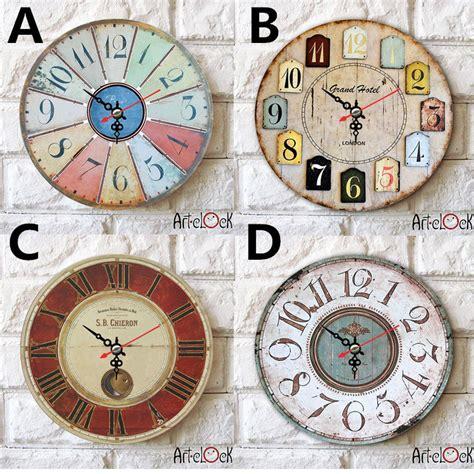 shipping zakka originality clock simple wall hanging