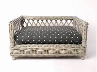 wicker pet bed Raised Rattan Dog Bed | Wicker Dog Beds | Charley Chau | StyleTails – STYLETAILS