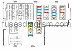 Fuses And Relays Box Diagram Mercury Mountaineer 2002
