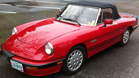 Alfa Romeo 1986 by 1986 Alfa Romeo Spider Information And Photos Momentcar