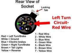 troubleshooting left turn signal    installed  bed