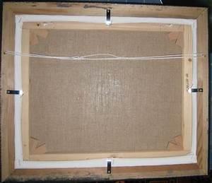 Comment Encadrer Une Toile : fixer un tableau dans son cadre fixer le paquet ~ Voncanada.com Idées de Décoration
