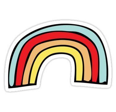 Rainbow Sticker by vanessavolk | Pegatinas bonitas ...