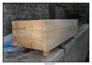 Bac En Bois Pour Plantes : comment construire un bac a fleur en bois jardin ~ Dailycaller-alerts.com Idées de Décoration