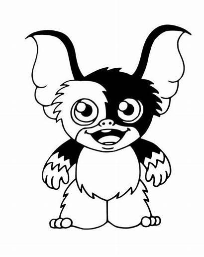 Gizmo Gremlin Cartoon Vinyl Decal Chibi Gremlins