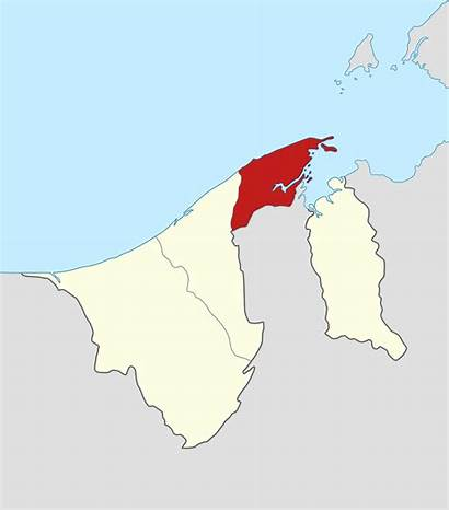 Brunei Muara Map District Svg Locator Wikipedia