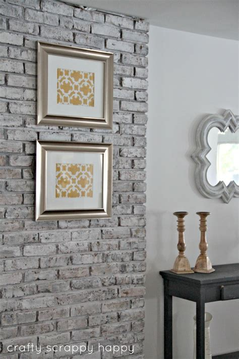 wood burner   chic brick wall start