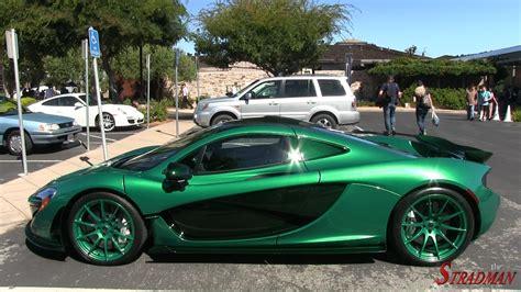 Bright Green Mclaren P1 Mso Driving!