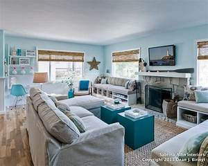 Image of: Diy Coastal Beach Chic Christma Decor Inspired Room Applicable Beach Theme Décor With Fresher Ideas And Results