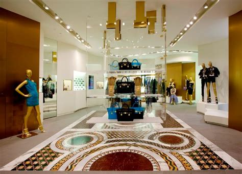 versace opens  flagship store  harbour city butterboom