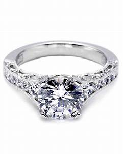 tacori engagement ring martha stewart weddings With how much are tacori wedding rings