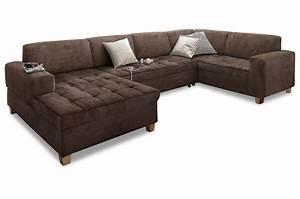 Sofa Mit Schlaffunktion Roller : wohnlandschaft braun ~ Bigdaddyawards.com Haus und Dekorationen