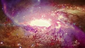 Through A Colorful Spiral Galaxy. Stock Footage Video ...
