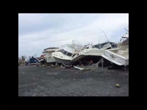 Tortola Hurricane Boats by Hurricane Irma Damaged The Island Nanny Cay
