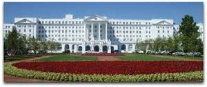 25th anniversary plate the greenbrier among top golf resorts in the world