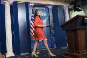 Sarah Huckabee Sanders Press Secretary