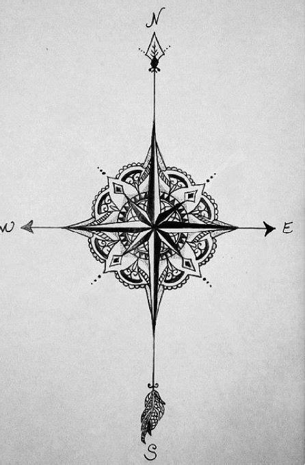 compass tatts pinterest tatouage