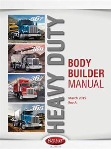 Peterbilt Body Builder Manuals Peterbilt Heavy Duty Body