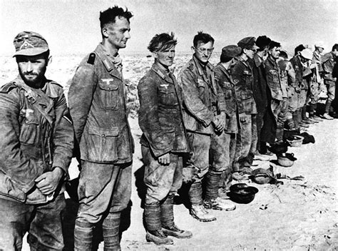 Some Of The 97 German Prisoners Captured By The British