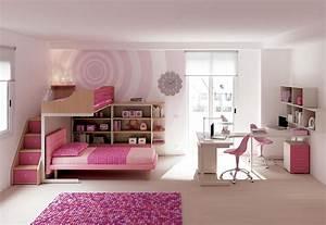chambre enfant avec lits superposes fille moretti With tapis chambre bébé avec canapé 2 places pour chambre