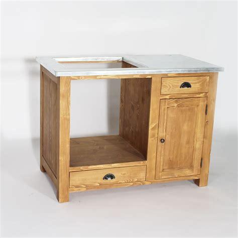 meuble cuisine pin meuble de cuisine en bois pour four et plaques cagne