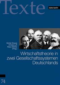 Wirtschaftstheorie In Zwei Gesellschaftssystemen