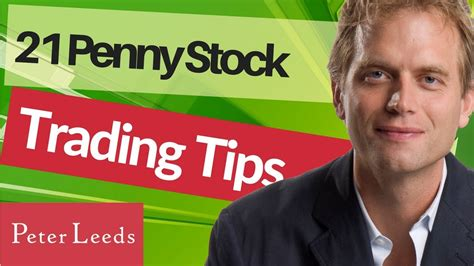 tips  trading penny stocks youtube