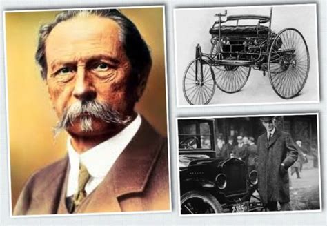 Henry Ford And Karl Benz, Stories Of Innovation That