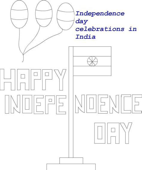 indian national flag coloring printable page  kids