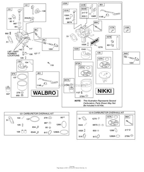 697978 Nikki Carburetor Diagram
