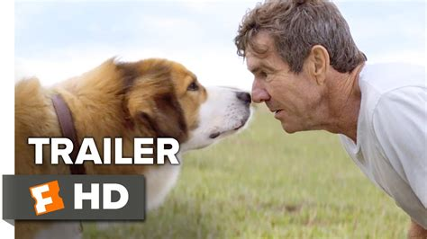 dogs purpose official trailer   dennis quaid