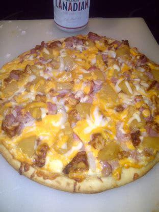 tropical chicken pizza  boston pizza recipe genius