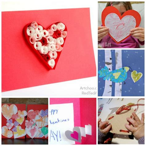 valentines day card kids 14 39 s day cards for kids to make ted art 39 s blog