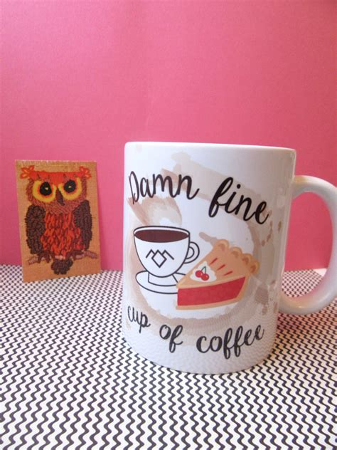 But even if i understood all that science (i got a d in chemistry), the thing is, i'm actually not that 4. Damn Fine Coffee Twin Peaks Mug