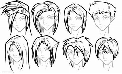 Anime Hairstyles Draw Female Manga