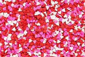 Valentines Day Candy Heart Background Stock Photo - Image ...