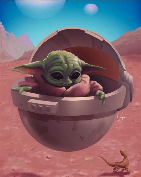 The Best Baby Yoda Fan Art In The Galaxy in 2020 | Fan art ...