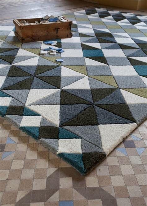 tapis contemporain design  idees doriginalite  la maison