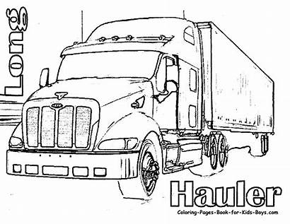 Coloring Truck Dump Pages